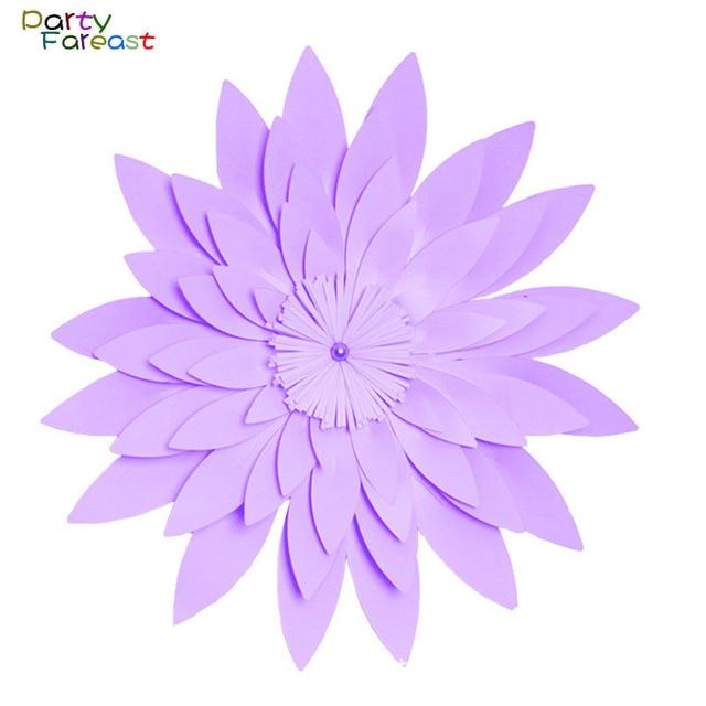 Pf 50 Cm Diy Papier Blume Handgemachte Hintergrund Requisiten Fur