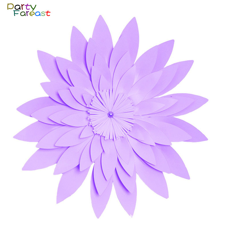Pf 50cm diy paper flower handmade backdrop props for home wedding pf 50cm diy paper flower handmade backdrop props for home wedding birthday party supplies wall hanging decoration crafts pd0270 in artificial dried mightylinksfo