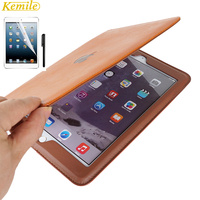 Luxury Leather Case For IPad Mini2 Retro Briefcase Auto Wake Up Sleep Hand Belt Holder Stand