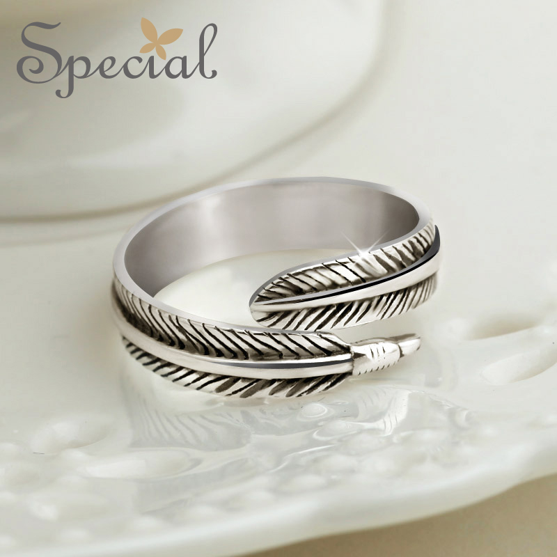 Special New Fashion Couple Rings 925 Sterling Silver Jewelry Fairy