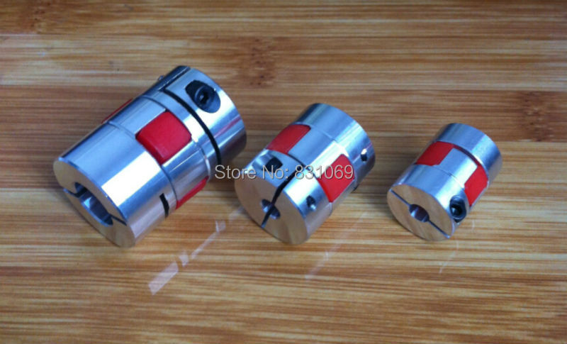 1Pcs BF 6.35mm x 12mm 6.35mm to 12mm D25 L30 Flexible Coupling Plum Coupling CNC Shaft Coupler Encoder Connector Brand New image