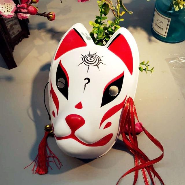Japanese Fox Masks Full Face H…
