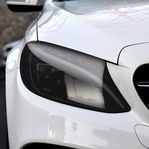Image 5 - Car Tint Headlight Taillight Fog Light PVC Film for Subaru Forester Audi A3 Q5 Q7 A4 B6 B7 A5 A6 C5 C6 Opel Insignia Corsa d