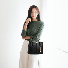 New Arrival PU Leather Handbags Casual Women Shoulder Bag Designers Ladies Hand Bags Simple Style Crossbody Messenger Bags