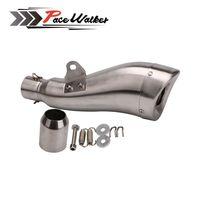 Universal LEOVINCE Motorcycle Exhaust Carbon Fiber Pipe Muffler TTRYZF RSZ CBR CB400 CF250 CBR600 CBR250 ER6N ER6R YZF600