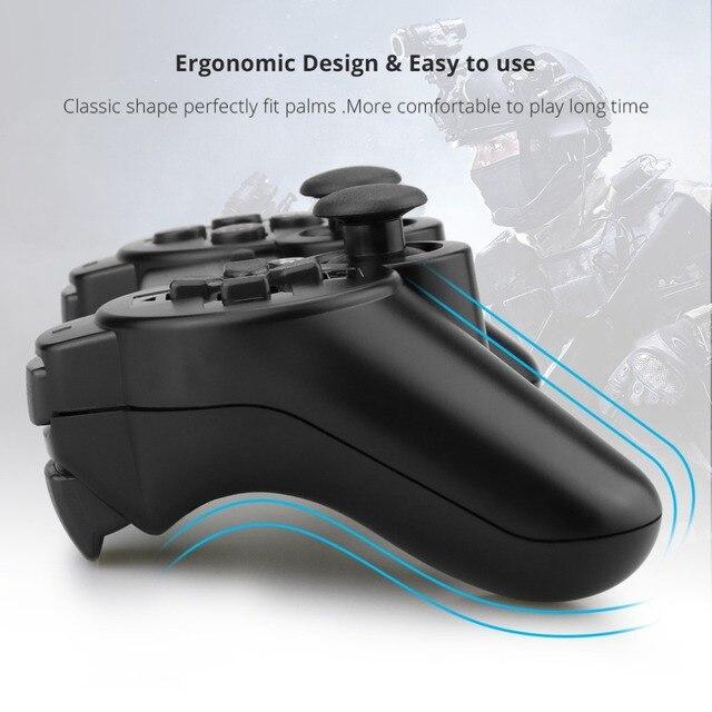 Gamepad Senza Fili Bluetooth Joystick Per PS3 Controller Console Senza Fili Per Playstation 3 Gioco Pad Joypad Giochi Accessori 5