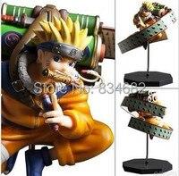 J.G Chen Free Shipping Anime Uzumaki Naruto PVC Action Figure Toy 23cm Naruto Toys Collection Model Toy