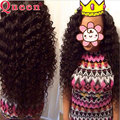 7A Brazilian Deep Wave Queen Hair Products 4pcs/lot Brazilian Virgin Hair Deep Wave 100 Virgin Human Hair Brazilian Deep Curly