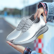 Women Reflective 350 sliver running shoes Thick Bottom Platform Shoes rainbow lady sneaker boots masculino famale 35-40