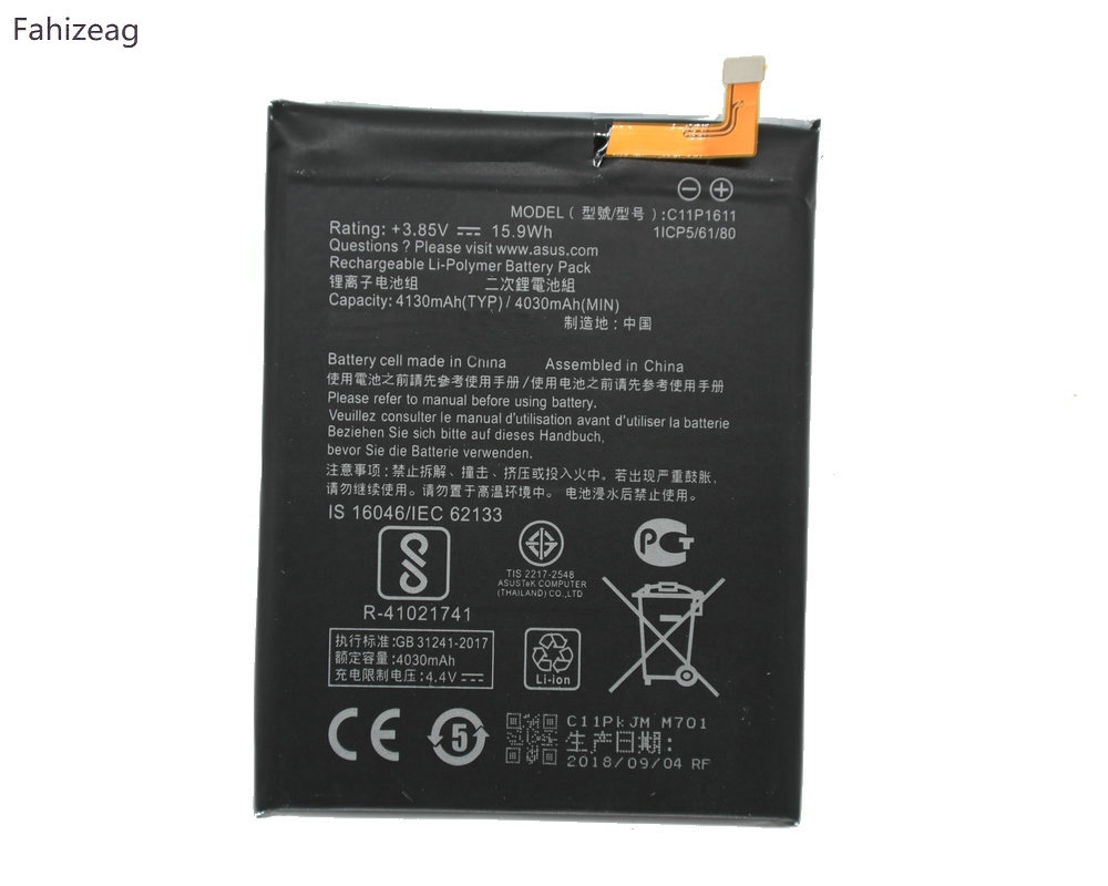 Mobile Phone Parts Dxqioo C11p1611 Battery For Asus Zenfone 3 Max 5.2 Zc520tl X008db Pegasus 3 X008 X008d Z01b Batteries Cellphones & Telecommunications