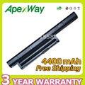 Apexway 4400 mah batería del ordenador portátil para sony bps22 vgp-bps22 vgp-bps22a para vaio vpc-e1z1e vpc-ea1 ea16e ea1s ea1z1e ea27ec ea45fg/b