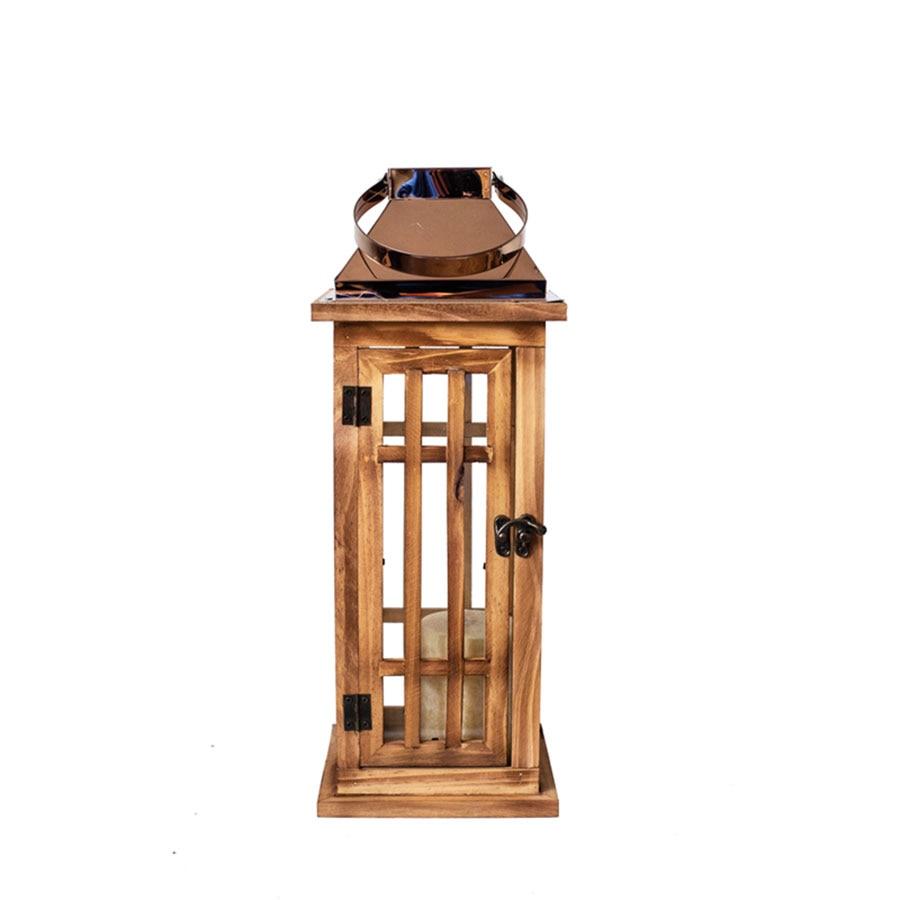 Bougeoirs en bois forgé nordique décorations de noël maison chandelier décoration de mariage Bougeoir en métal bougie maison WZF132