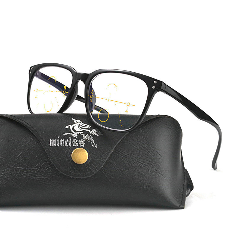 d082f480af8 High Quality Unisex Progressive Multifocal Lens Reading Glasses Men Women  Presbyopia Hyperopia Bifocal Eyeglasses with box