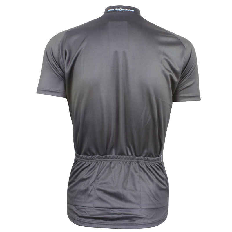 Alien SportsWear Gentleman-stil Zyklus Kleidung Männer Sommer Quick Dry Kurzarm Bike Bekleidung Schwarz Ropa Ciclismo Größe XS-5XL