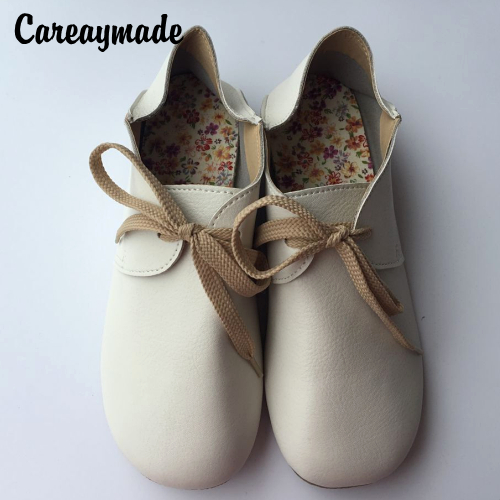 Careaymade-Free shipping,Leather pure handmade shoes, women leather the retro art mori girl shoes,summer Flats shoes,3 colors free shipping candy color women garden shoes breathable women beach shoes hsa21