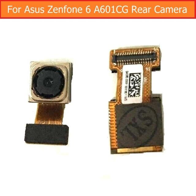 Genuine traseira/câmera frontal para asus zenfone 6 a600cg a601cg t00g z002 enfrentando módulo da câmera big voltar camera substituição flex cable