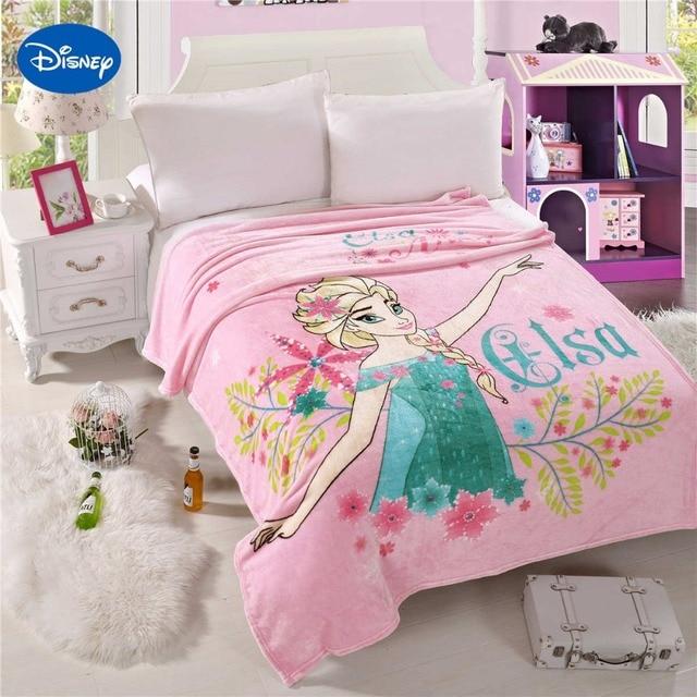 Disney Cartoon Karakter Frozen Elsa Afdrukken Dekens 150*200 CM Maat ...