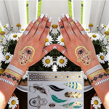Trendy Charming Body Accessories Waterproof Small Fresh Wild Goose Feather Pattern Tattoo Stickers