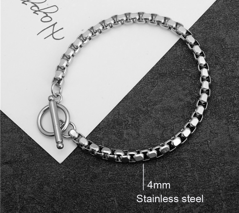 Stainless steel bracelet/couple/women/bileklik/femmeStainless Steel Bracelet Bangle pulsera hombre for women mens bracelets 19 2