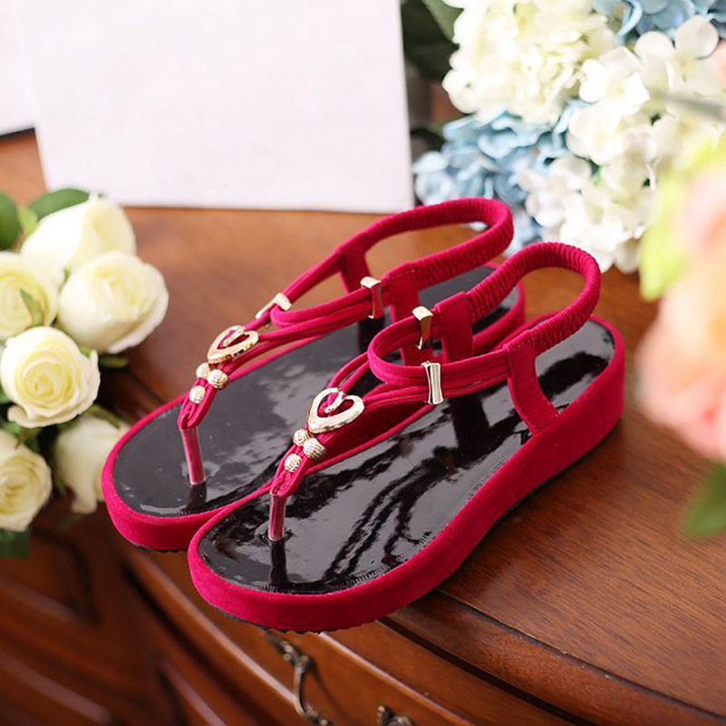 d1f0980c0ff3 Fashion High Heel Jelly Sandal Casual Womans Designer Flat Sandals Ladies  Luxury Brand Platform Fake Shoes Sapato Feminino WC102-in Women s Sandals  from ...