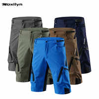 Calções de ciclismo dos homens mtb mountain bike ropa respirável solto apto para esportes ao ar livre correndo bicicleta equitação calças curtas