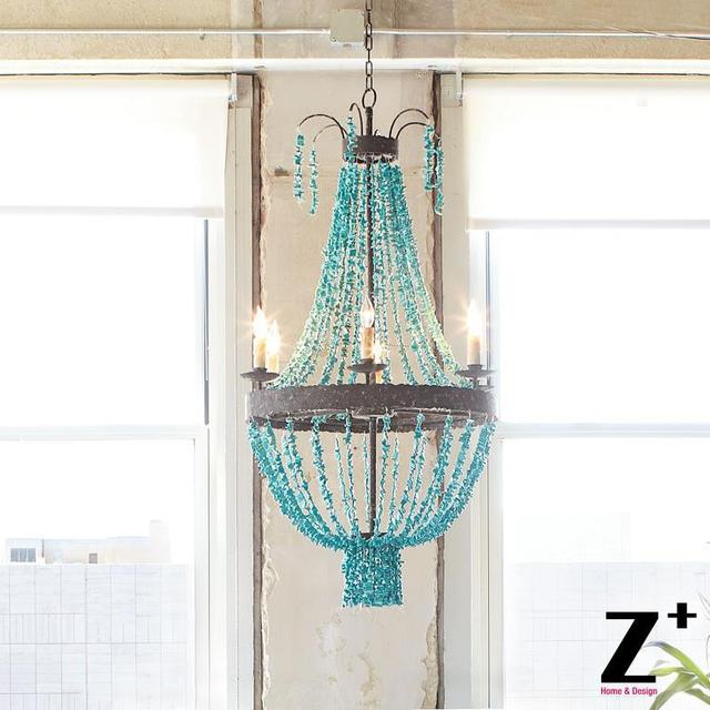 Replica item blue stone turquoise beads six light chandelier d70cm replica item blue stone turquoise beads six light chandelier d70cm regina andrew free shipping mozeypictures Gallery