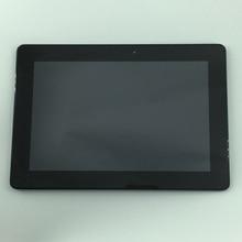 Используемые части ЖК-дисплей Дисплей стекло Панель Сенсорный экран планшета Ассамблеи рамка для Asus Memo Pad Smart 10 ME301 ME301T K001 5280N FPC1