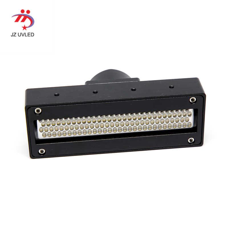 Docan UV Flatbed Inkjet Foto Printer Epson 2 Baris Gh2220 Dx5 Print Head Yang Sesuai dengan Tinta Menyembuhkan 120*20 Mm 395nm Ultraviolet Light