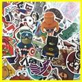 New 50 PCS Cute Animal Sticker Luggage Skateboard Doodle Vinyl Decals Car Styling Laptop Bike Toy Waterproof DIY JDM Stickers