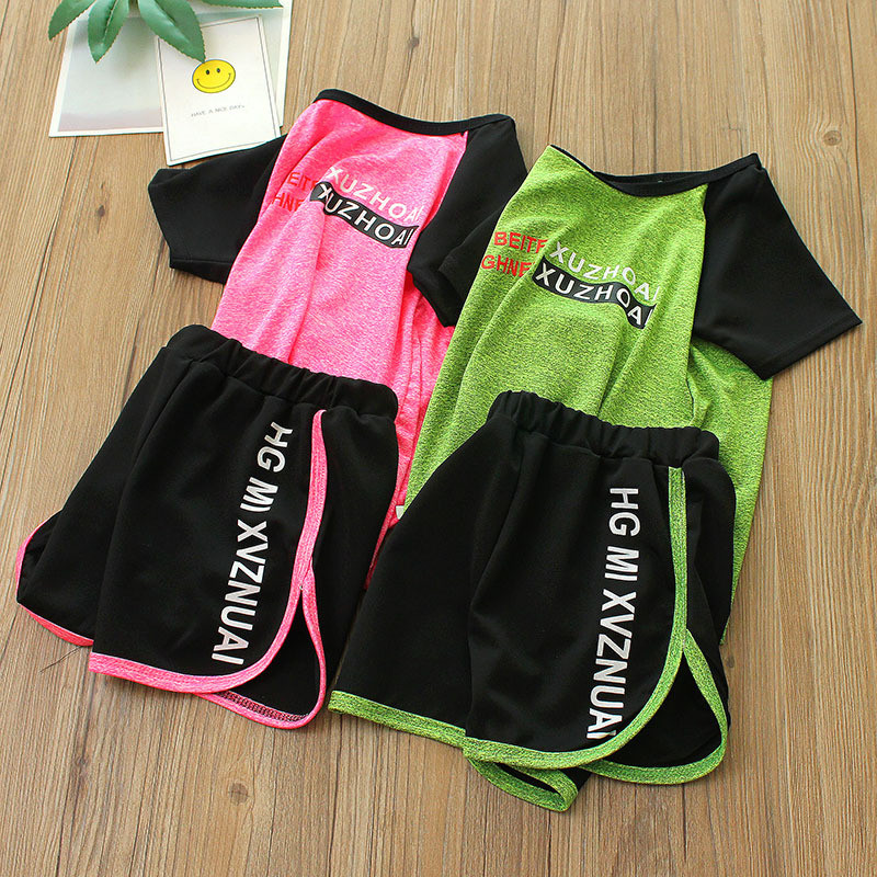 Summer time Boys Garments Sport Tracksuit Child T Shirt + Shorts Swimsuit Ladies Garments Toddler Informal Boy Tops Kids Clothes Children Set Aliexpress, Aliexpress.com, On-line buying, Automotive, Telephones &...