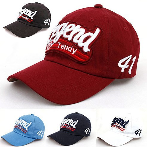 design fashion legend letter caps cotton baseball cap women sun hat uk best designs software
