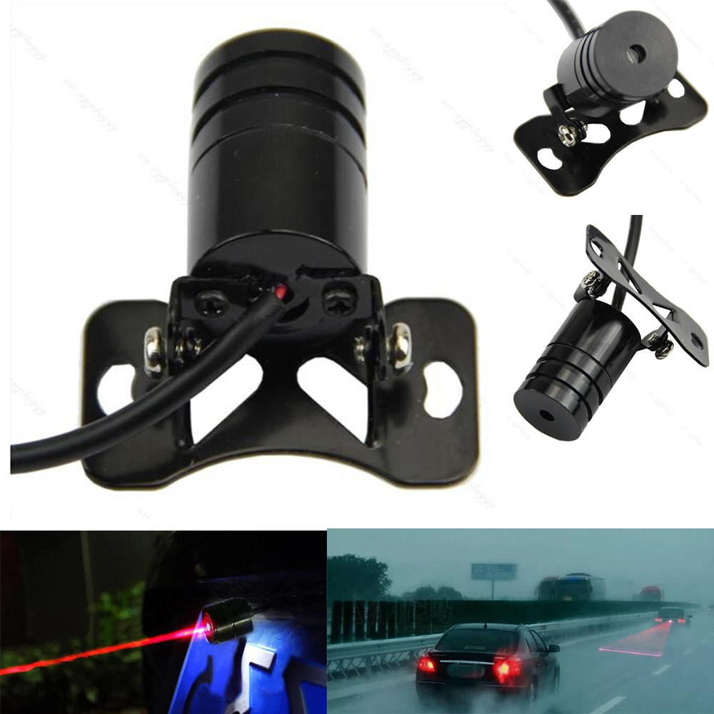 2015 New Universal Laser Car Tail Light Safety Led Back Rear Warning Light Anti Fog Anti Collision Auto Rear LED Laser Fog Light for chevy chevrolet lacetti matiz automotive anti rear fog light vehicle collision warning safety laser fog lights