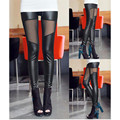 1PC winter 335g new keep warm thick cotton leather Patchwork thin women leggings ninth pants Ankle-Length #1541