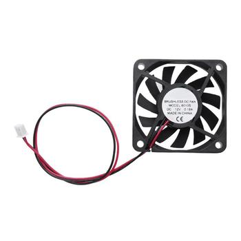 11 Blades Waterproof 58x58x10mm DC 12V 0.18A Cooler Fan 2Pin Low Noise Brushless PC Cooling Radiator Fans computer cooling