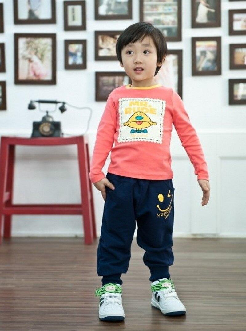 Hot 2015 New spring autumn cotton kids pants Boys Girls Casual Pants 2 Colors Kids Sports trousers Harem pants