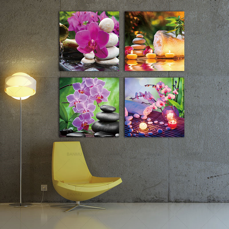 Art Décor: Wall Art Canvas Painting Home Decor Zen Art Decor SPA