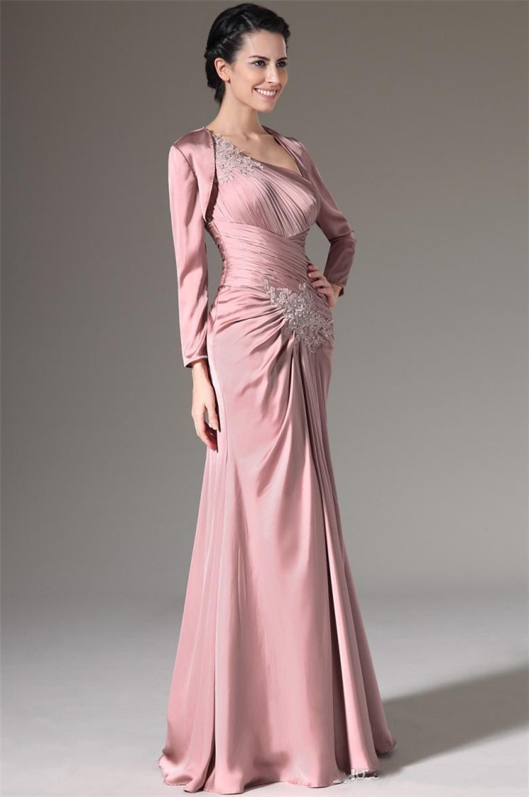 Ruching Plus Size Mother Of The Bride Dresses Draped Mothers Dresses