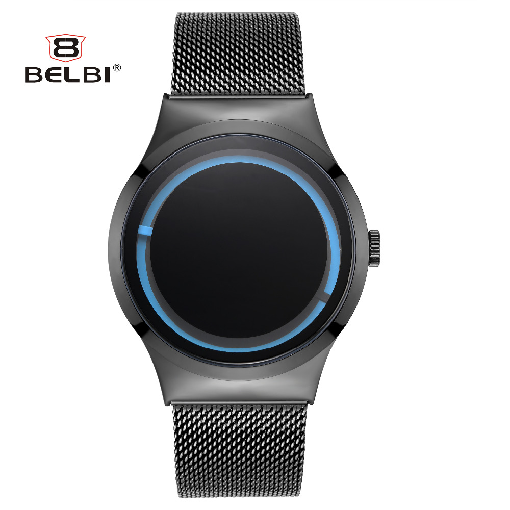 Mens Watches 2018 Luxury Brand BELBI Fashion Design reloj de pulsera - Relojes para hombres
