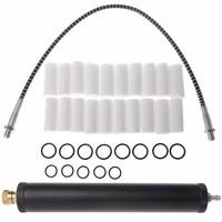 Black Aluminum Alloy PCP Air Filter Compressor Oil Water Separator High Pressure 40Mpa 300bar Pump