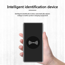 2 USB Wireless Charging 10000mah Power Bank External Battery Powerbank Portable Mobile Phone Charger For Xiaomi iPhone X Samsung