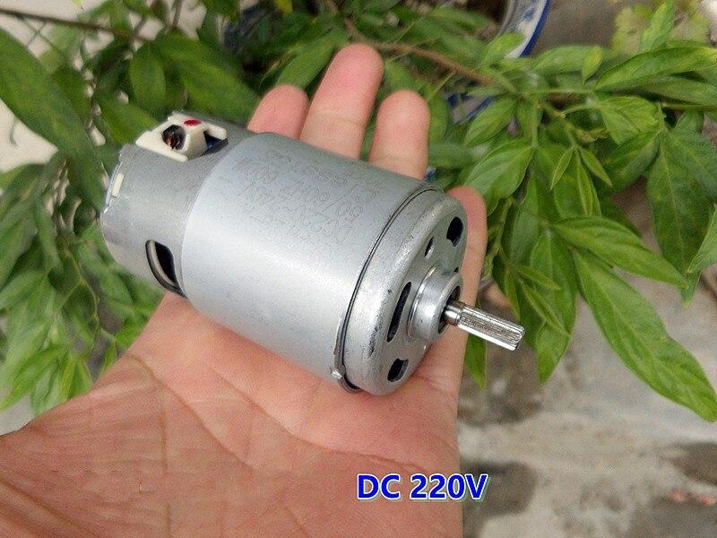 AC//DC220V 600W 15800rpm Large Torque High Power Speed Carbon Brush Motor Tool