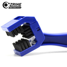ФОТО motorcycle bicycle chain new clean brush gear grunge brush cleaner outdoor cleaner scrubber tool for honda crf450r 250x 2014-16