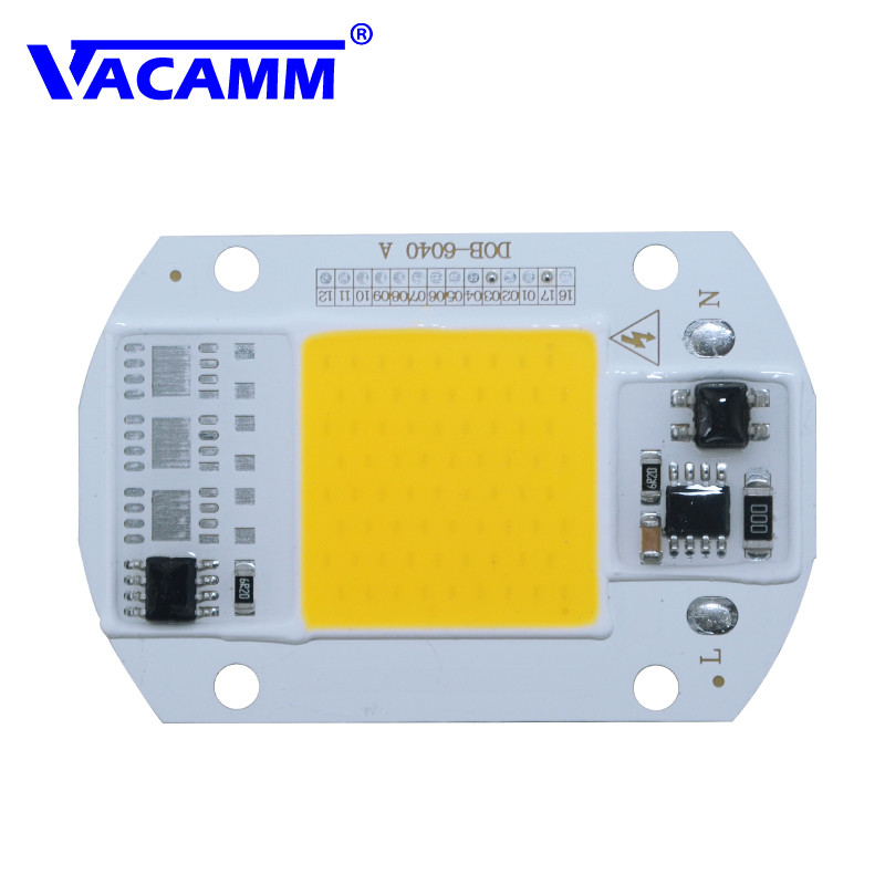 LED COB Lamp Integrated High Power Light AC220V 110V Lamps With Smart IC Driver 30W 50W Spotlight White / Warm White LED Lights