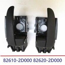 Genuino Interno Porta Maniglia Anteriore Sinistra destra Nero per Hyundai Elantra XD 2.0L1.6L2003-2010 82610 2D000 82620 2D000 826102D000