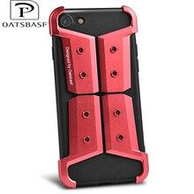 Oatsbasf Science Fiction Metal Phone Cases For iPhone 7 7plus 6s 6plus 6 Super Shockproof Originality Aluminum Metal Armor Shell
