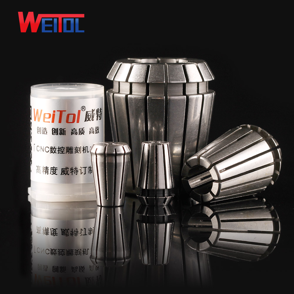 Weitol free shipping 1pcs ER20 ER collet chuck spring collet for CNC milling tool router machine tools engraving bit collet free shipping iso40 nt40 oz25 80mml collet chuck milling toolholder use oz25 collet clapming 3 25mm tools