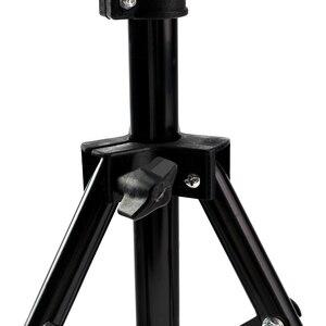 Image 4 - 高品質ヘッドフォームステント人工人形ヘッドホルダーブラケットかつらヘアモデルヘッド三脚ブラケットマネキンヘッド三脚