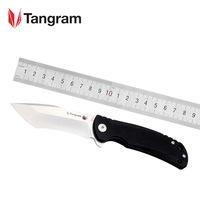 TANGRAM Big knife Hunting Folding Knife TG4001A1 G10 Knives Survival Portable Knife Top Quality Acuto440c Stainless Steel|Knives| |  -
