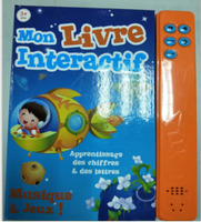 French e book learning book touch screen baby learn book reading book Parent child interaction For Kids learn