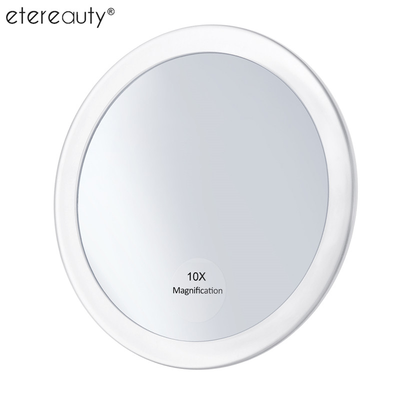 10x Magnifying Makeup Mirror with 3 Suction Cups Make Up Pocket Cosmetic Mirror Magnification Compact Mirror Magnification10x Magnifying Makeup Mirror with 3 Suction Cups Make Up Pocket Cosmetic Mirror Magnification Compact Mirror Magnification
